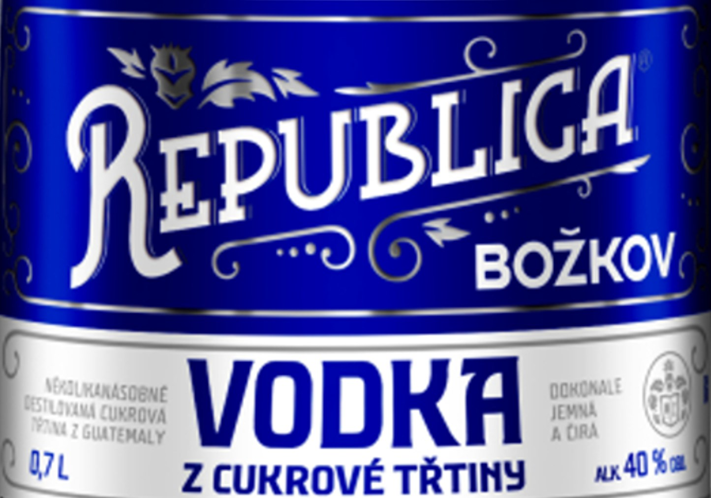 Božkov Republica Třtinová Vodka